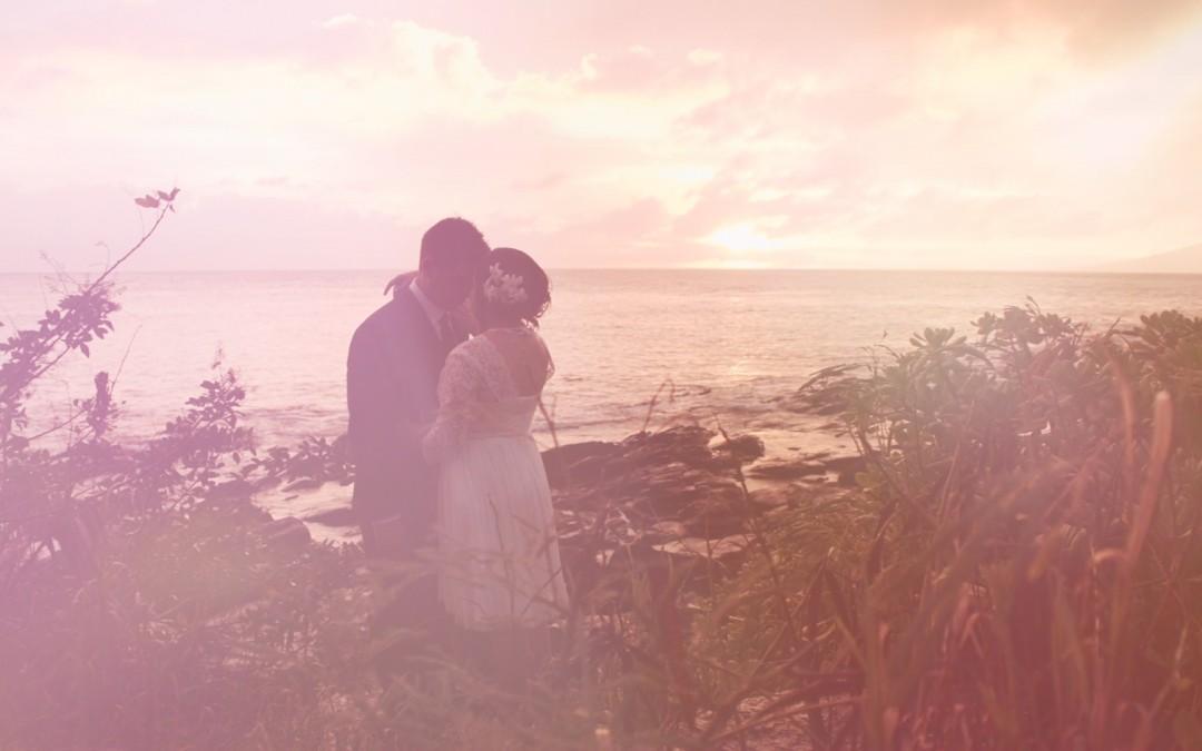 Hawaii Love Story Vignette 1 – Merriman's Kapalua