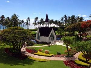 The Famous Grand Wailea Chapel