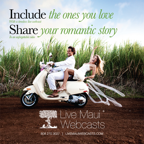 Live Maui Webcasts Preferred Vendor at the Grand Wailea