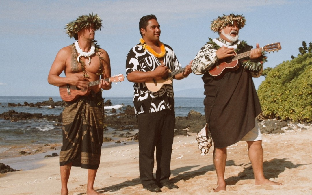 Rare Ukulele Trio Performance at Palauea Beach